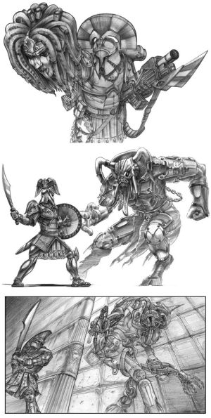 Greek Heroes and Monsters
