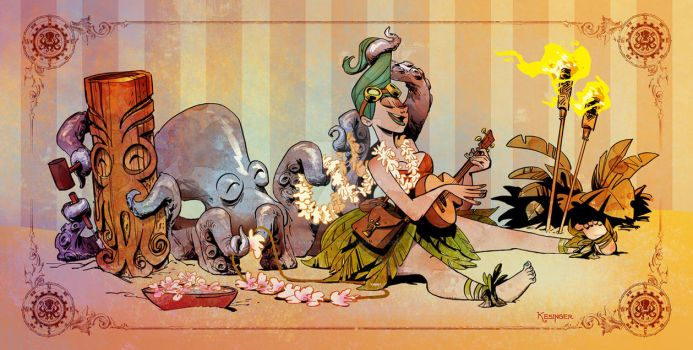 lounging with otto by BrianKesinger