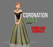 [MMD] Coronation Anna - OBSOLETE by wintrydrop