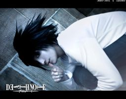 :Death Note: L by JennyJinya