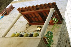 Trogir - Old city - balcony by ReneHaan