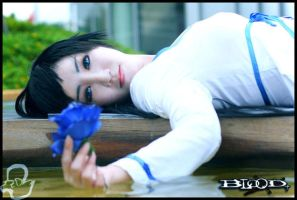 A Blue Rose. by LennethXVII