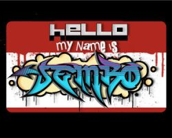 HELLO MY NAME IS JEMBO by giambojembo