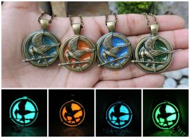Glow in the dark mocking sparrow hunger bird games by Saloscraftshop
