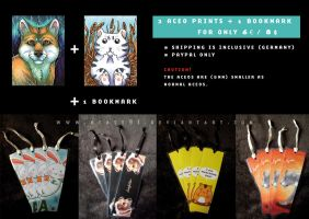 ACEO Prints and Bookmarks for Sale by Beast91