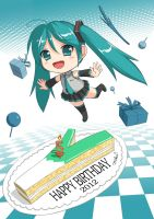 Miku Happy Birthday! by crazypencheng