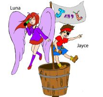 Adventures of Jayce and Luna by khall47