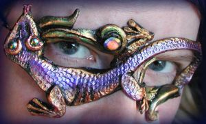 Gecko Mask by Namingway