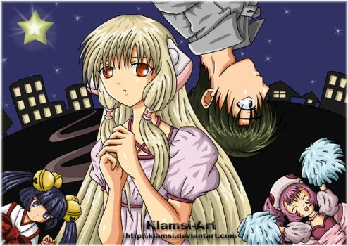 Chobits by Klamsi