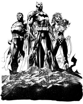 Jim Lee ICONS Inks by Nanquilizador