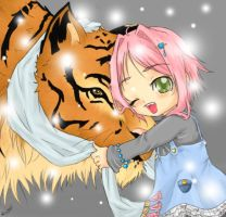 Love in the tiger year by Ninou24