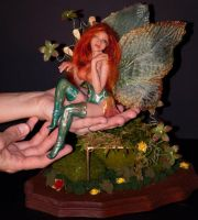 One of a kind Le Rose Fairy Fae by incantostudios