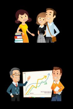 Lecturers by Vectorape