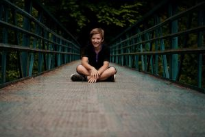 Thomas on bridge by petrbilek