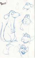 Remy the Rat by jusdog