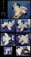 Baby Ram Gryphon Plushie by Sysirauta