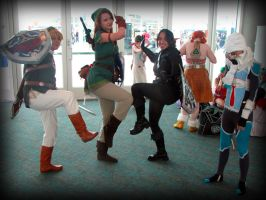 Link can't do the sheik pose by AuberyMirkwood