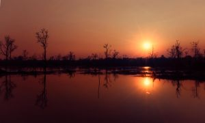 Sunset (Cambodia) by xiboxo