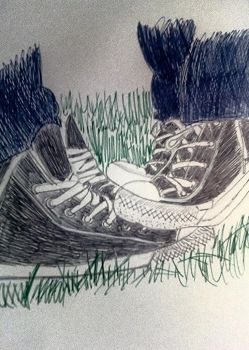 Finished Converse by Shainaw