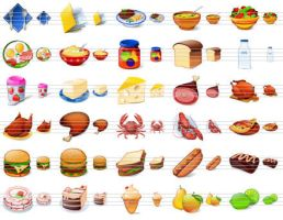 Desktop Buffet Icons by ahasofticons