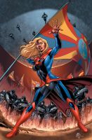 Supergirl-Smallville by battle810