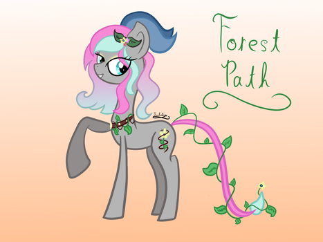 Forest Path by CrystalCadenza