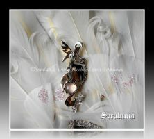 'Fairies dream' handmade sterling silver brooch by seralune