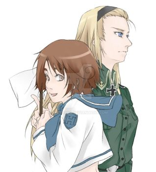 APH Ludwig and Feliciano by akee68qq