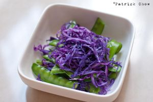 Cabbage-pea salad by patchow