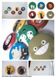 Studio Ghibli - Magnet Set by artshell