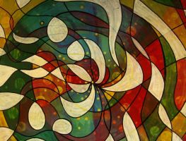 abstract 007 by santosam81