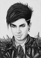 Adam Lambert GlamGod by lucasthefierce