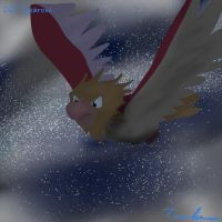 Pokemon Challenge 021-Spearow by midgear