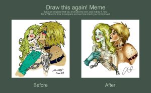 Draw This Again Meme by FrauV8