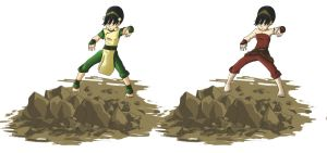 Toph-paint practice by Eshutin