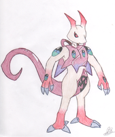 Dream Eater N.- Mewtwo by Juxshoa