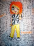 Hayley Williams Chibi by UncleJiggy