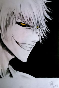 White Ichigo by VoX-draw