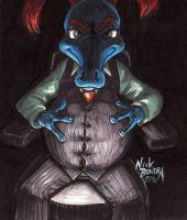 Fisk In The Dark by Inflato-Phraggle