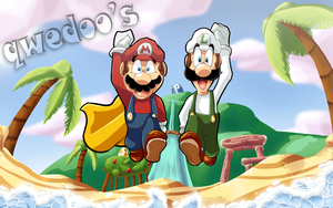 Go Mario Brothers, GO by Hugo-H2P