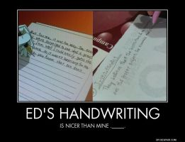Edward Elric's handwriting... by Ambulanche