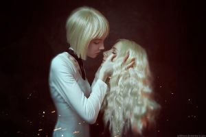 Claymore - Clare and Teresa by Shredinger-Cat