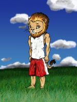 lion-man-dude. by kkcooly