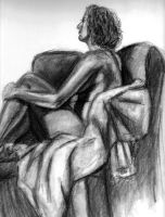 first nude study by fliest