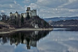 Niedzica castle II by minko2312