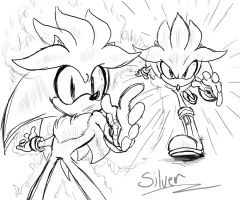 Silver doodles by sonicboom53