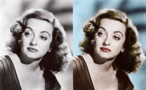 Bette Davis - before after by B-D-I