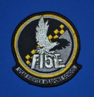 F-15E Division, USAF Weapons School Patch by F16CrewChief