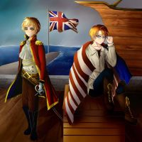 England and America: Pirates by anime-lover3593
