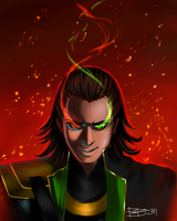 Loki by purrball31